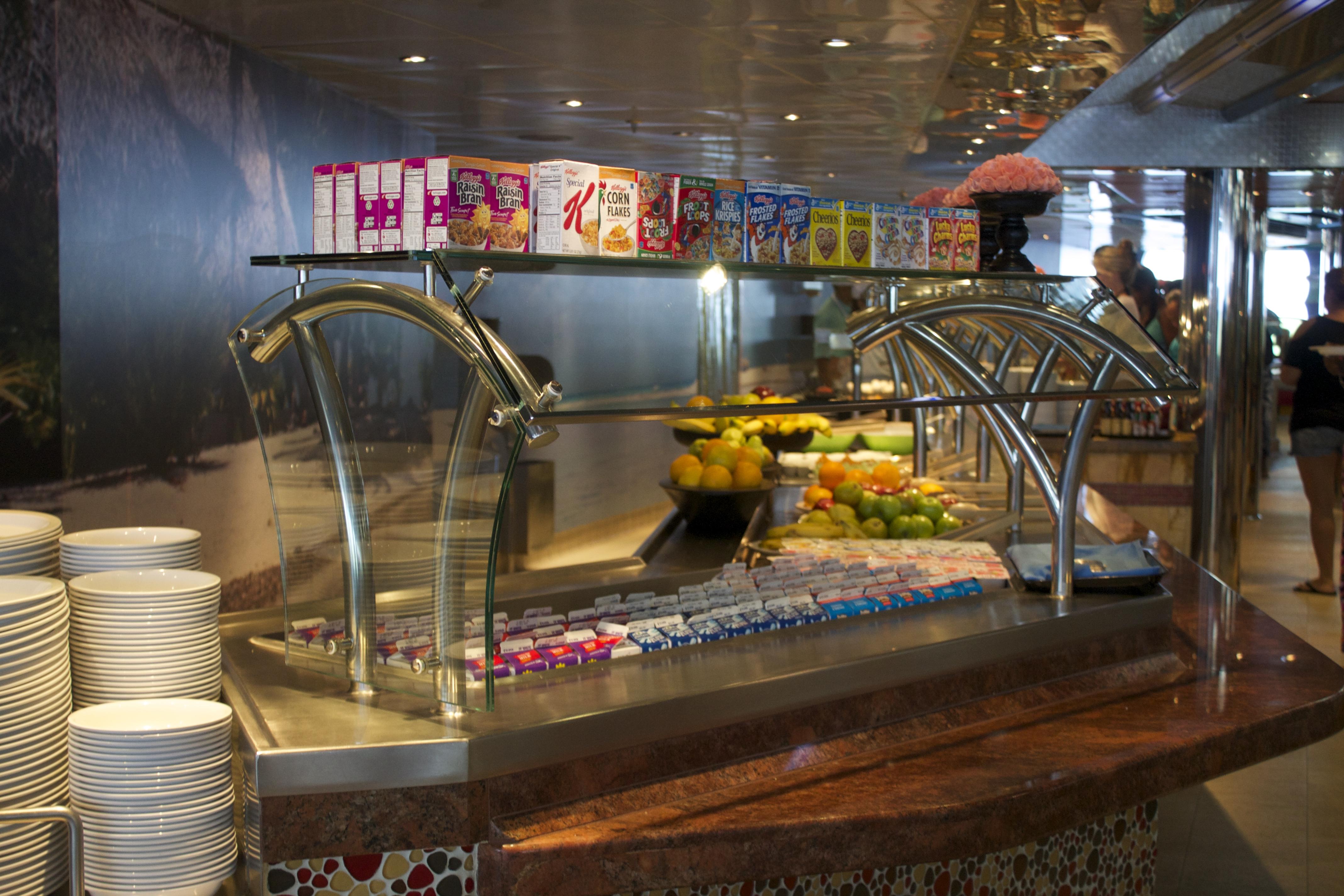 Carnival Cruise Food Aboard The Carnival Magic Cruise Ship