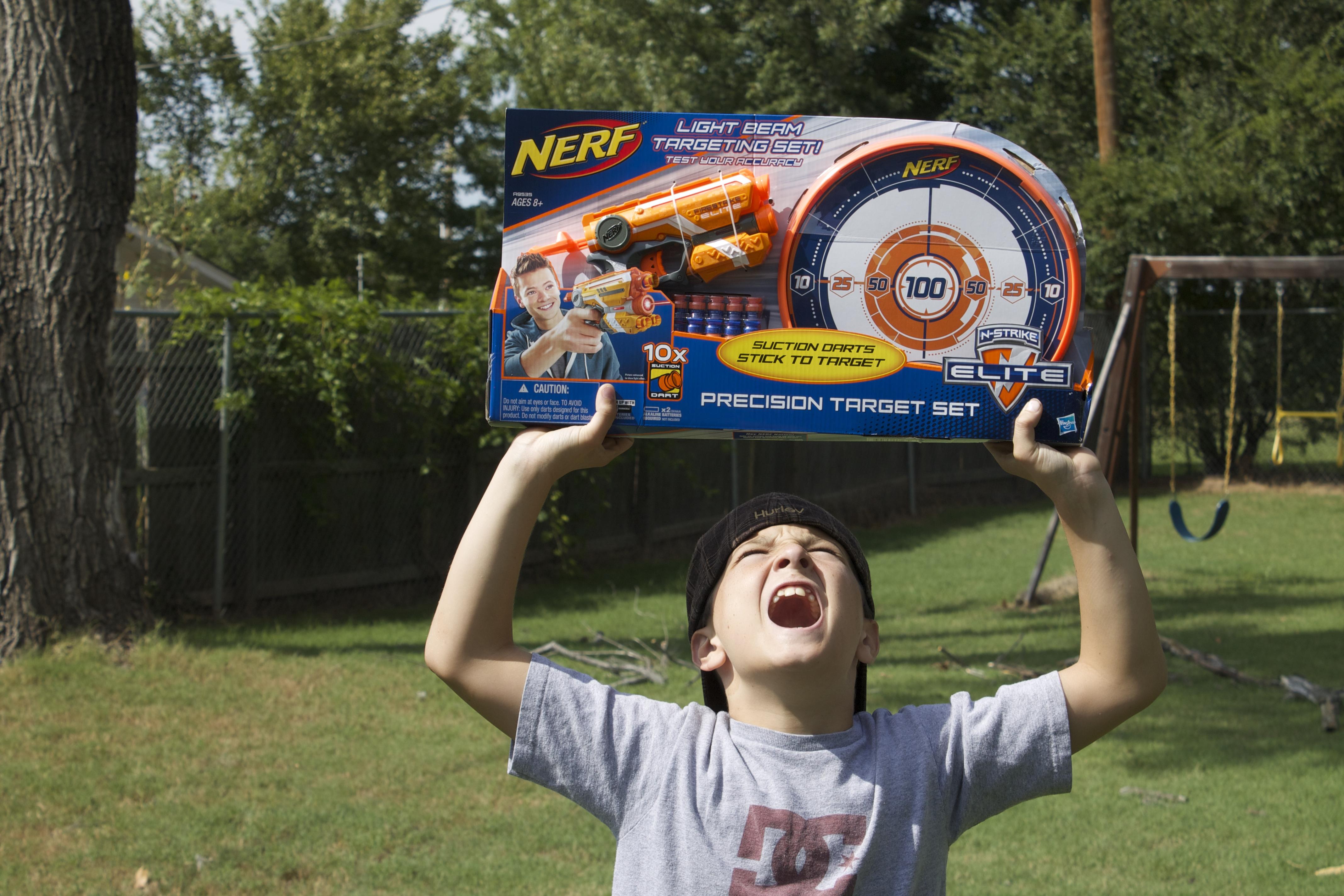 47cm Big Soft Bullet Toy Gun Sniper Rifle Plastic Gun & 20 Bullets 1 Target  Electric Toy Gift N Strike 8 bursts Blaze Storm-in Toy Guns from Toys &  Hobbies ...