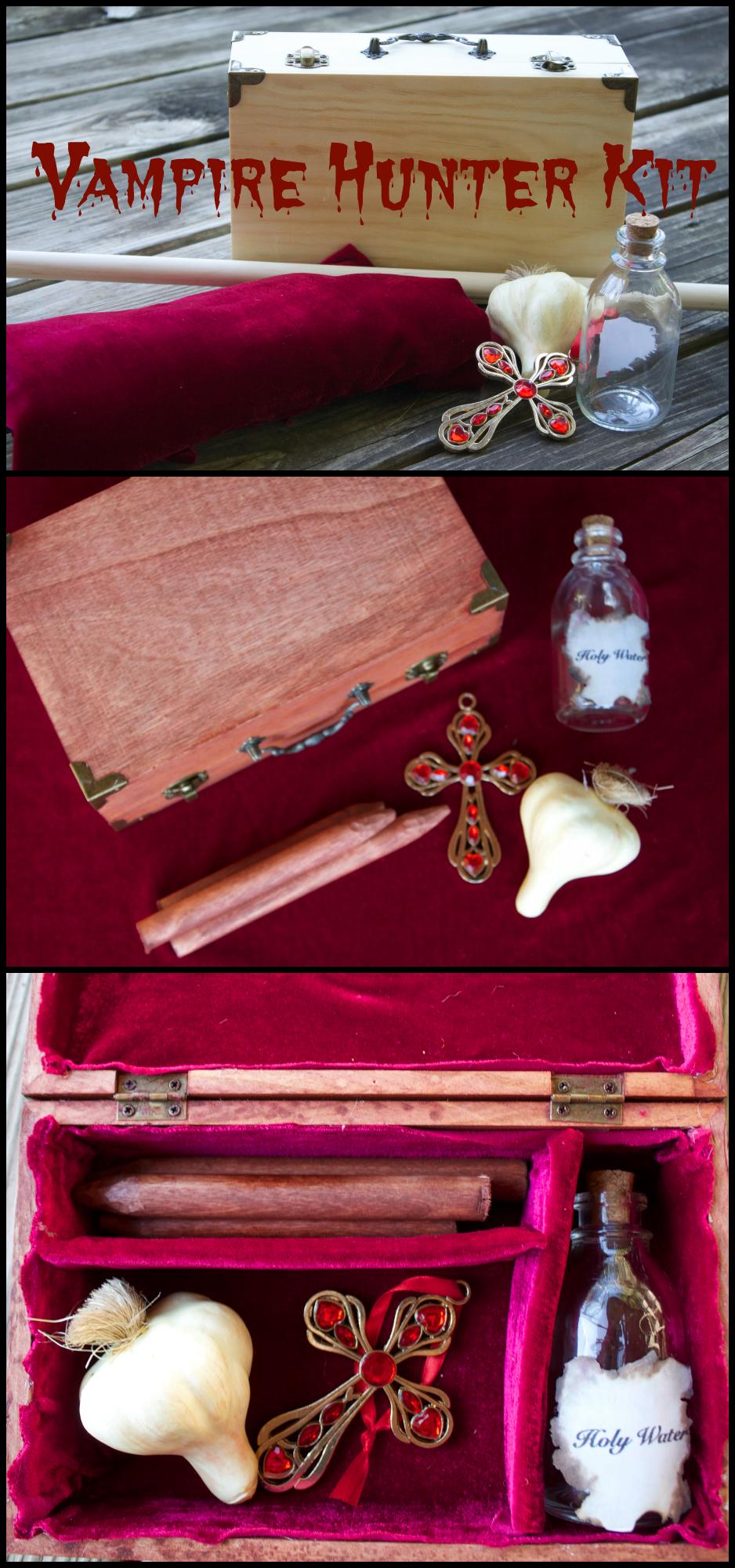 how to make a vampire hunter kit