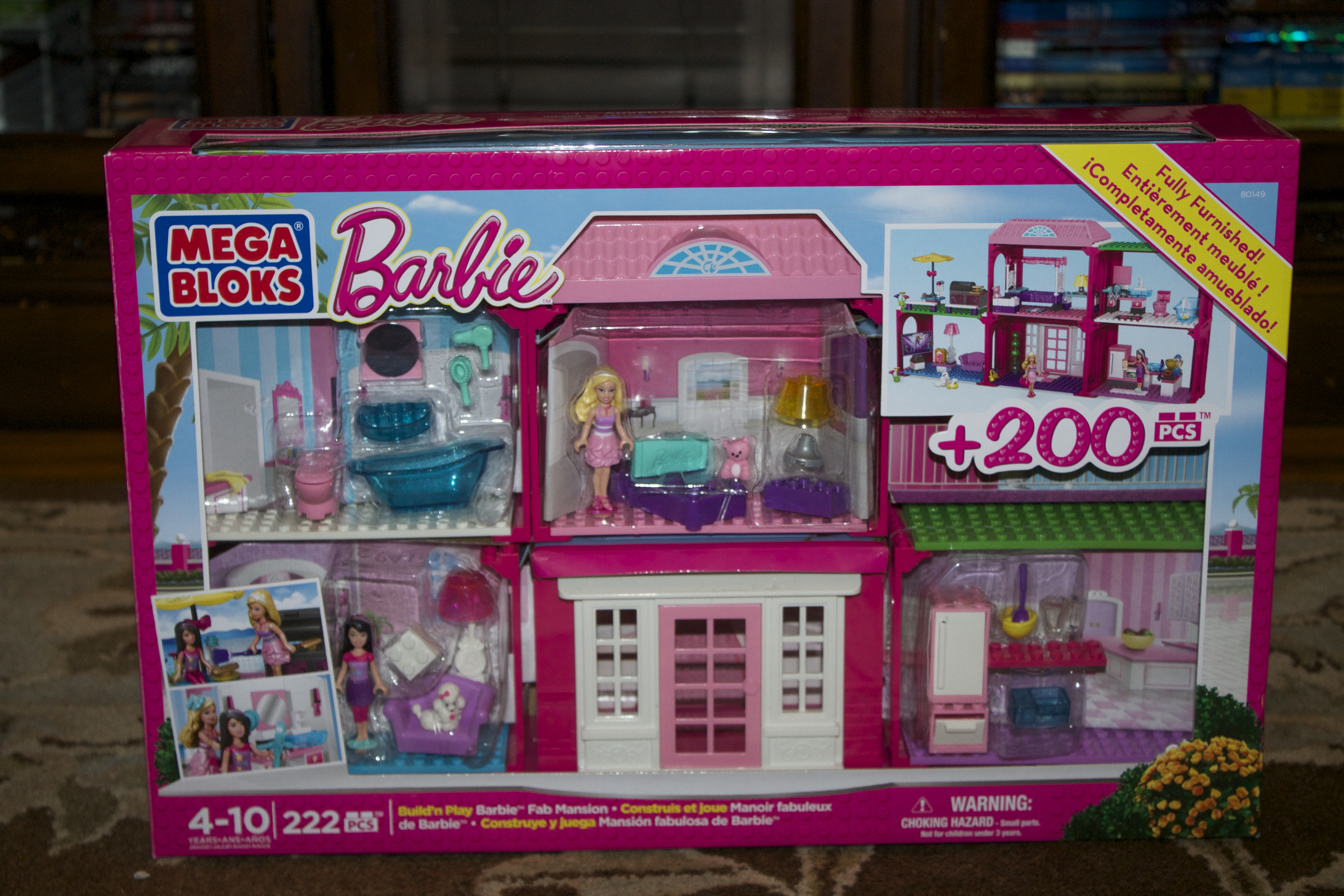 Mega Bloks Barbie Build N Play Fab Mansion Interiors Inside Ideas Interiors design about Everything [magnanprojects.com]
