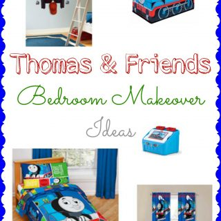 Thomas & Friends Bedroom Makeover Ideas