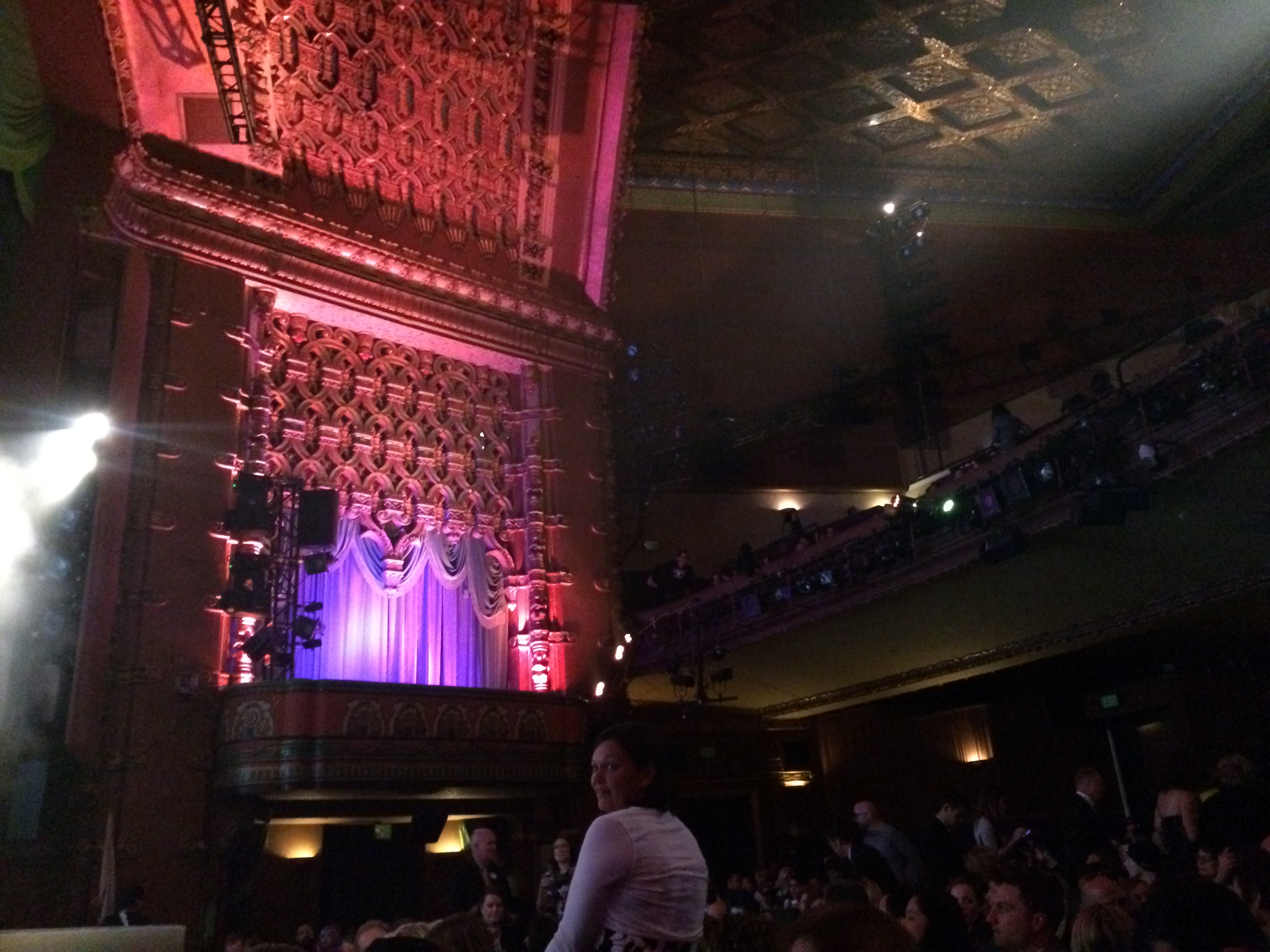 inside el capitan theater