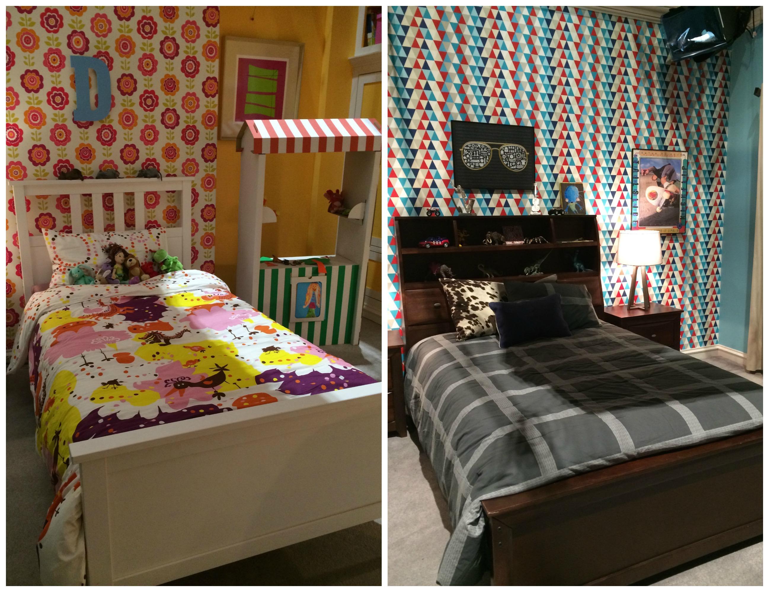kids rooms on black-ish tv show