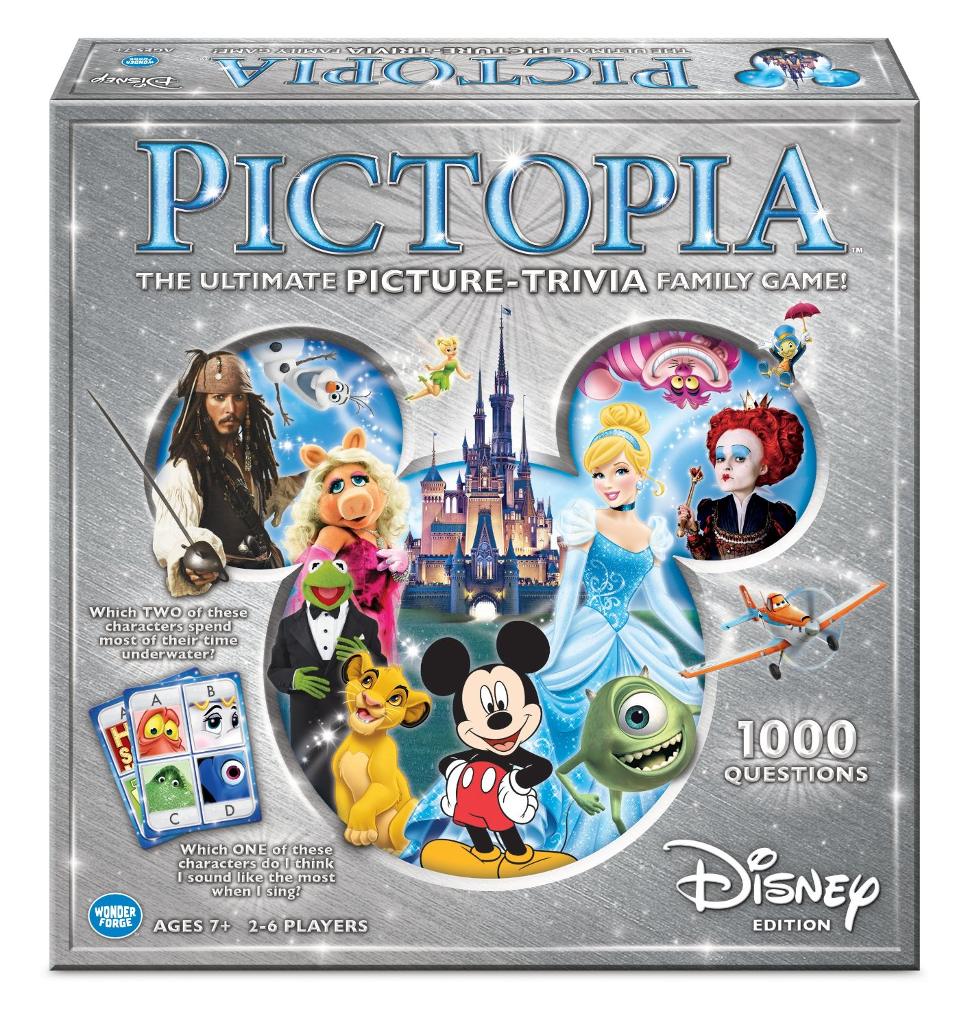 Gifts Under $20-Pictopia-Family Trivia Game: Disney Edition