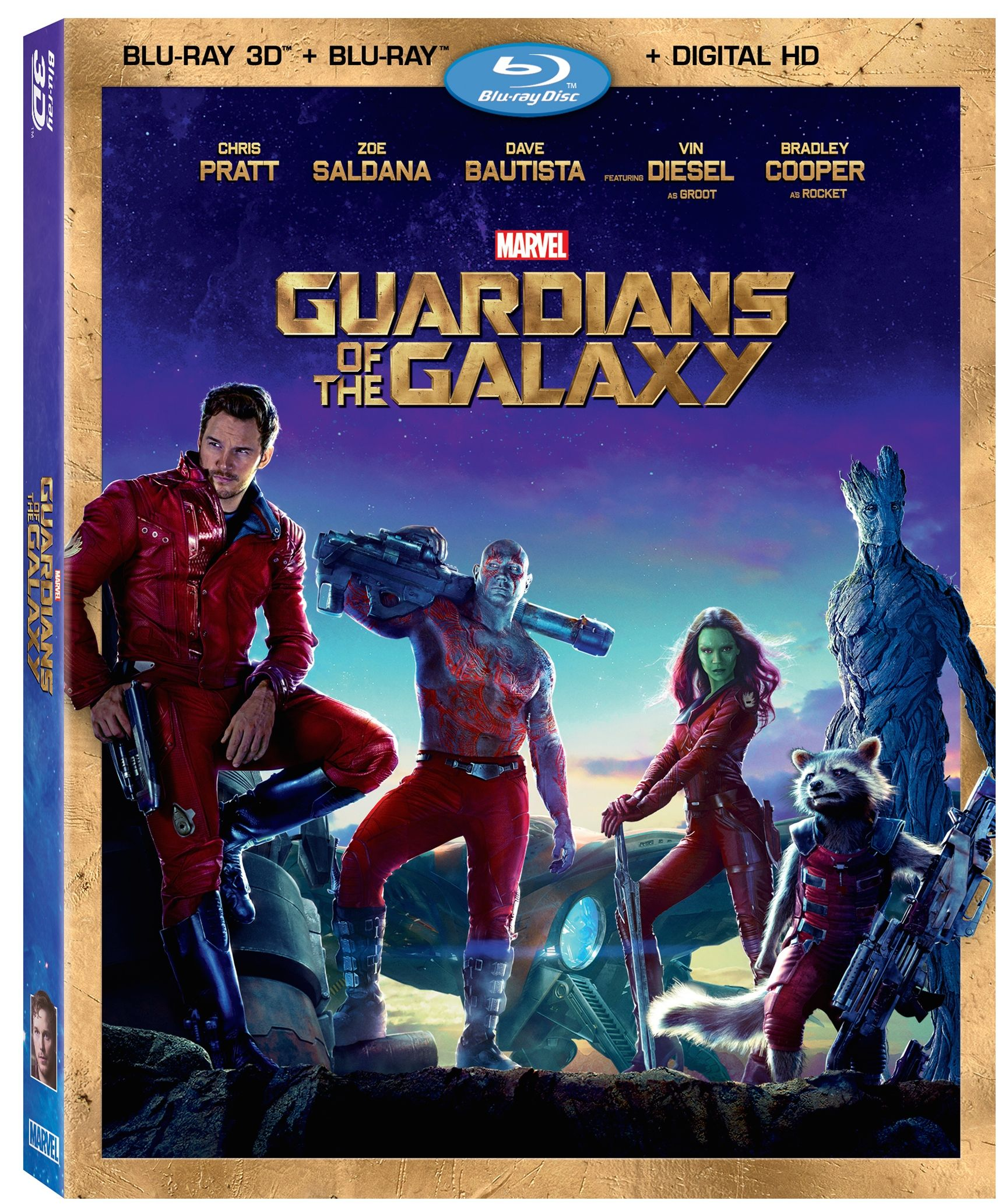Guardians Of The Galaxy 3D Combo Pack