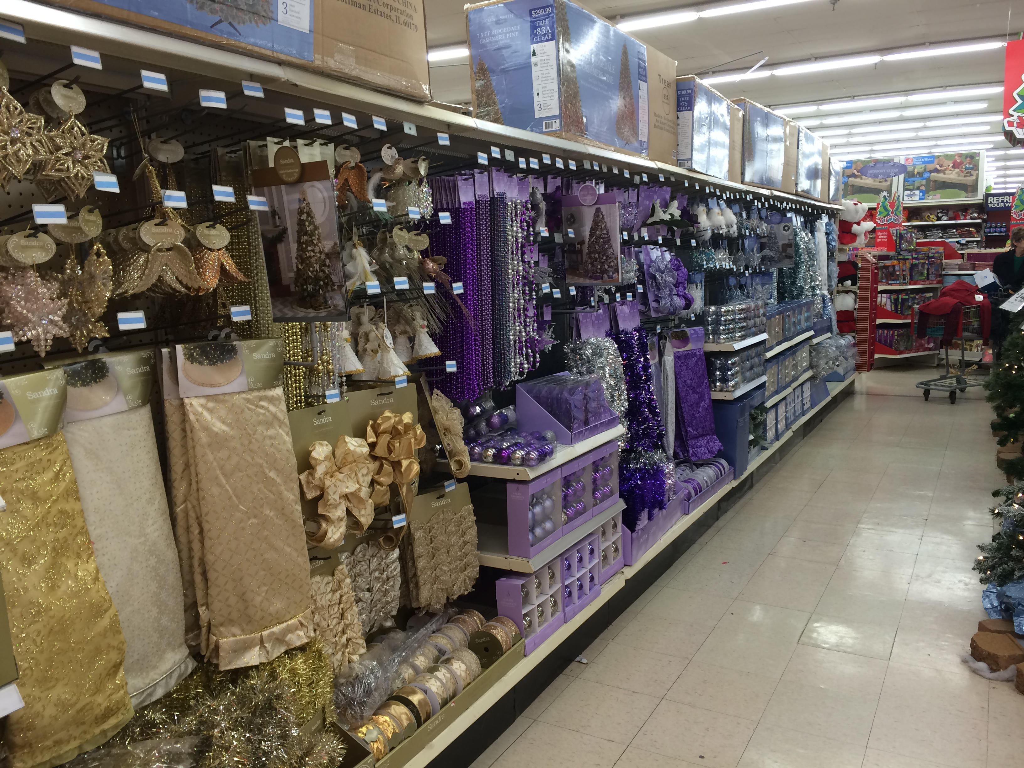 kmart holiday decor