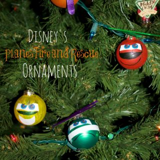 Planes Fire and Rescue Characters Ornaments