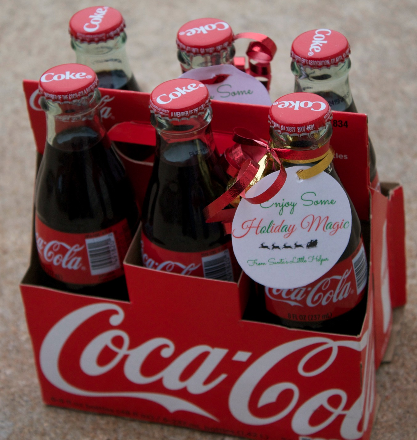 real magic-coke bottle labels