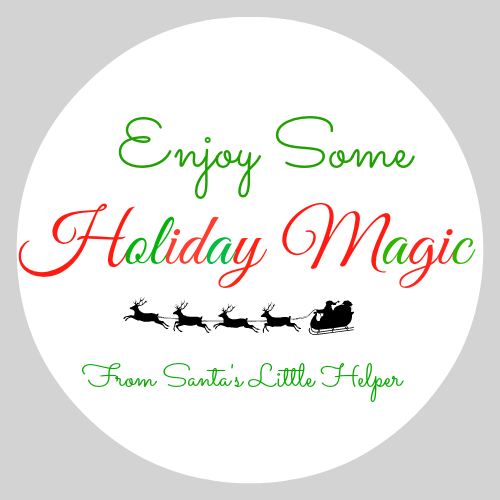 holiday gift labels printables