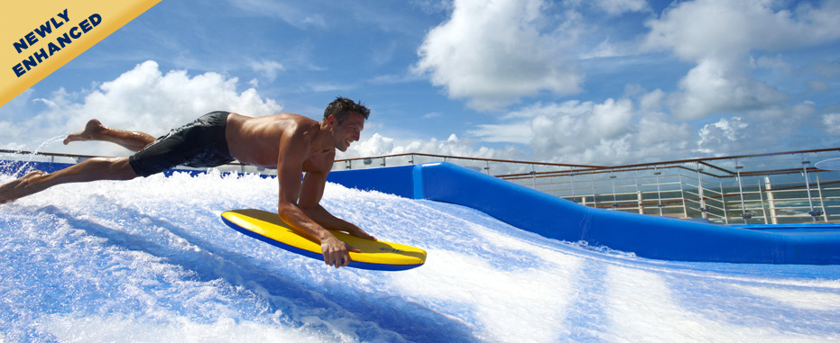 royal caribbean freedom of the seas-flow rider