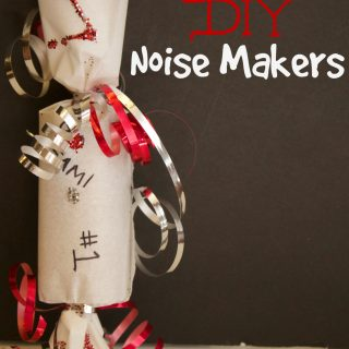 Make Your Own Noise Makers For Game Day