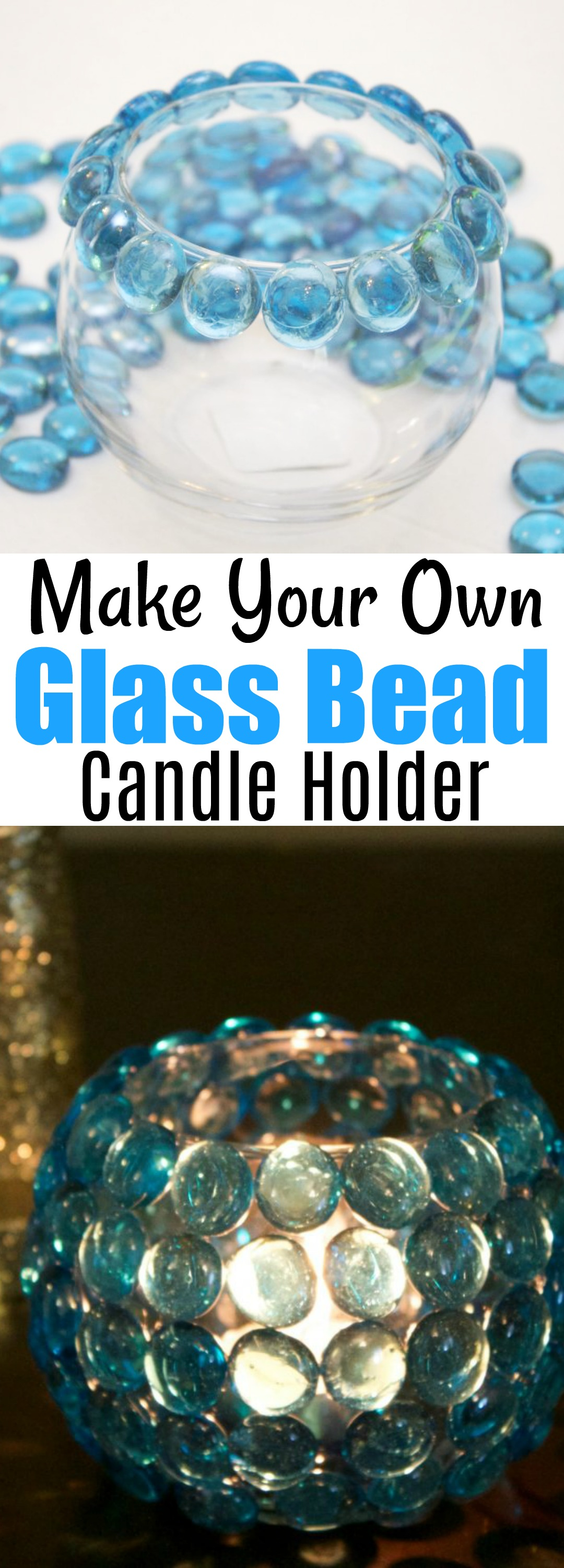 Dollar store crafts make your own candle holder for Create your own candle holder