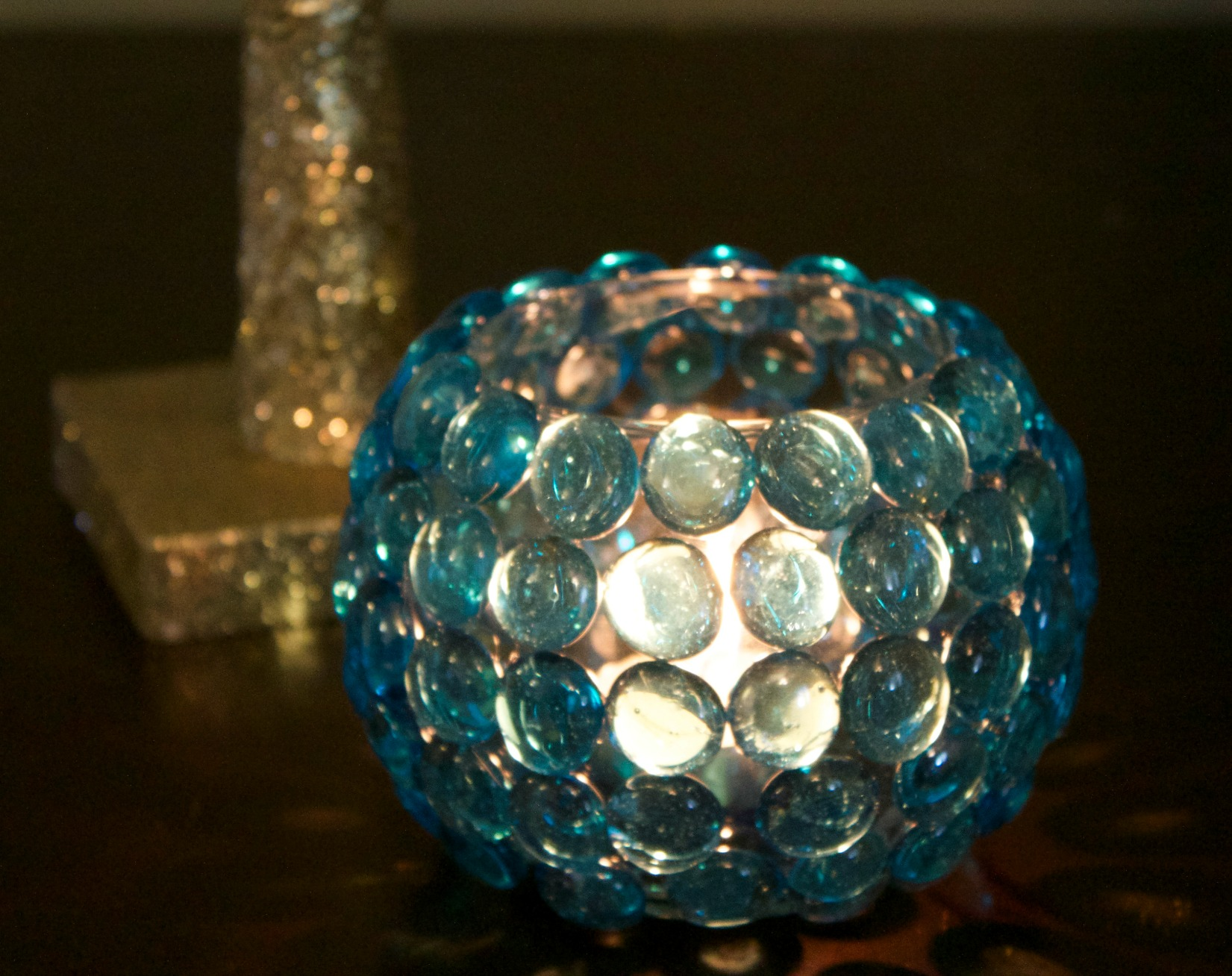 Dollar Store Crafts Make Your Own Candle Holder