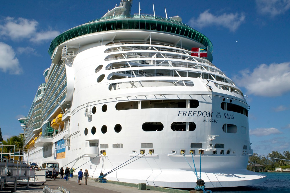 newly renovated freedom of the seas