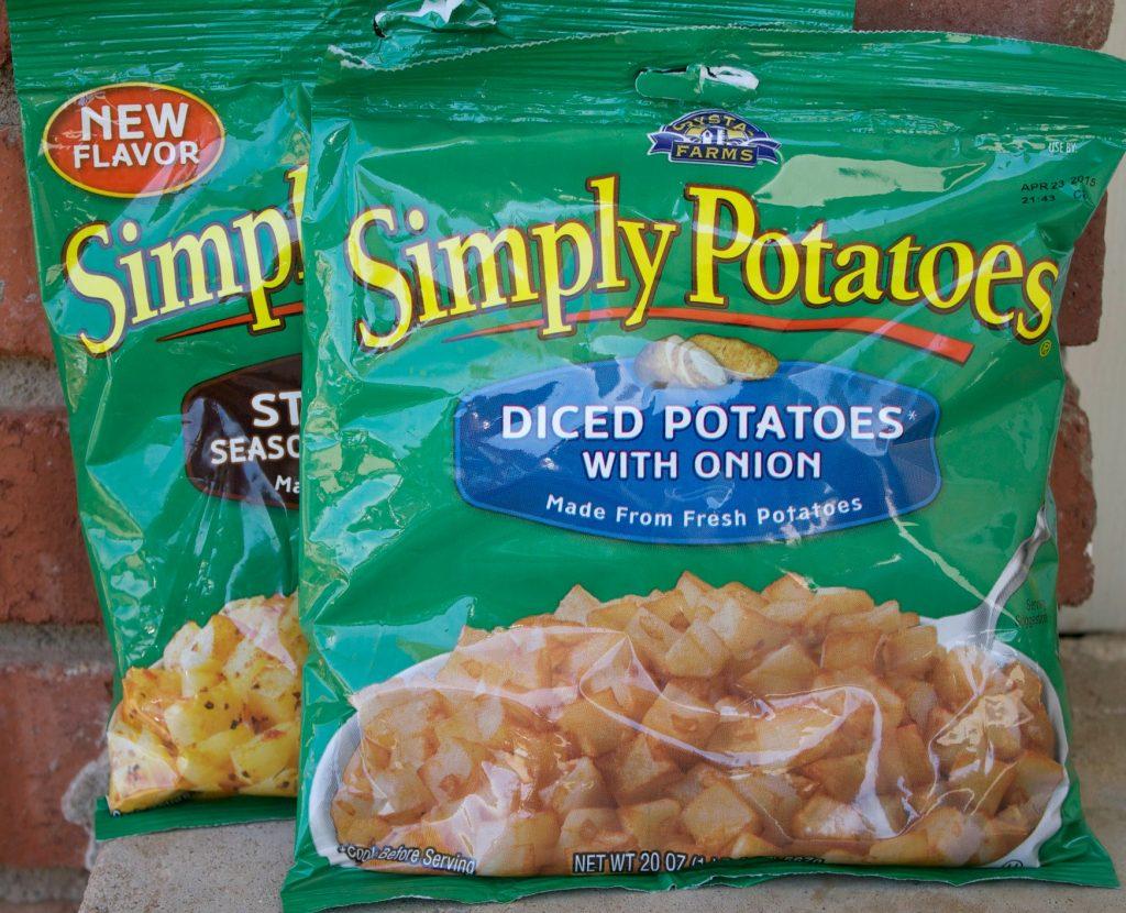 Potato Bacon Egg Cheese Skillet-premade potatoes