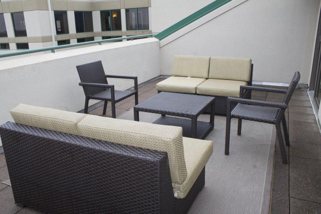 outdoor patio chickasaw resort
