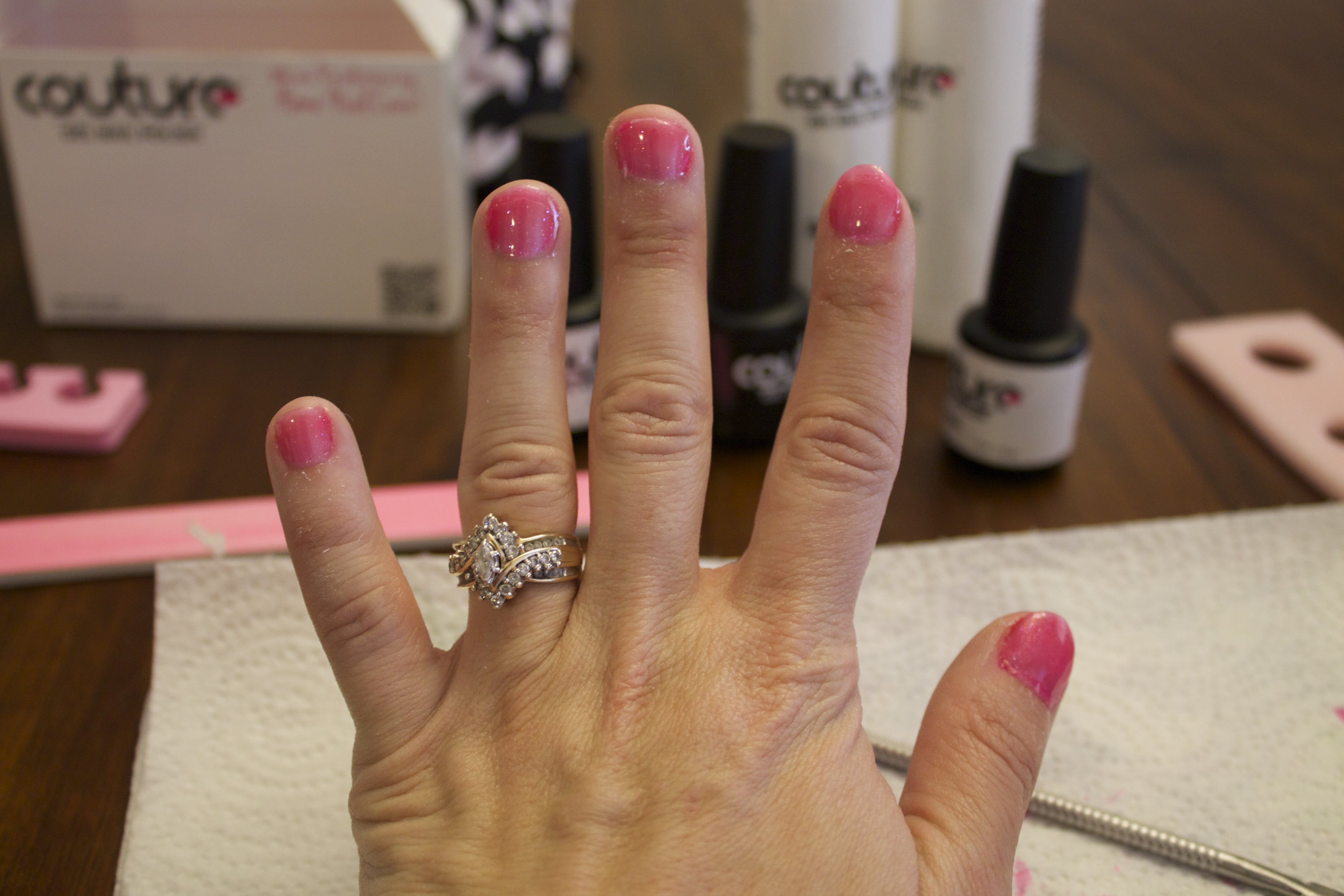 Gel Nails at Home with Couture Gel Nail Polish Review