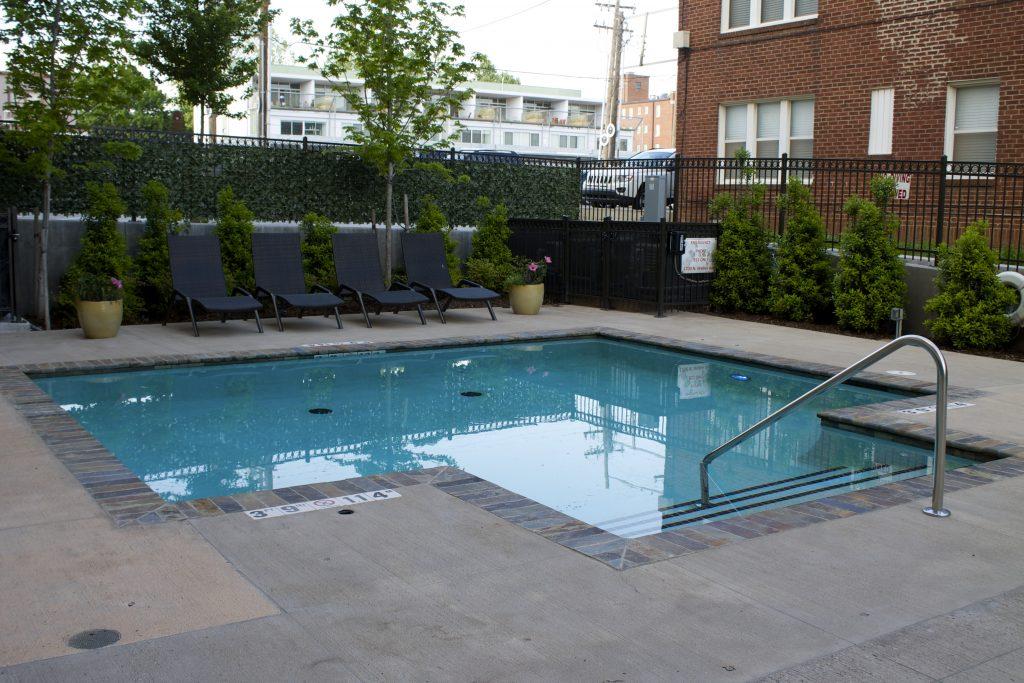 ambassador hotel OKC pool