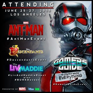 Follow Me As I Head To LA To Cover The Ant-Man Event #AntManEvent