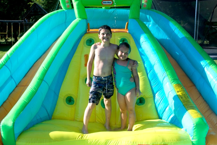 little tikes inflatable water slide review