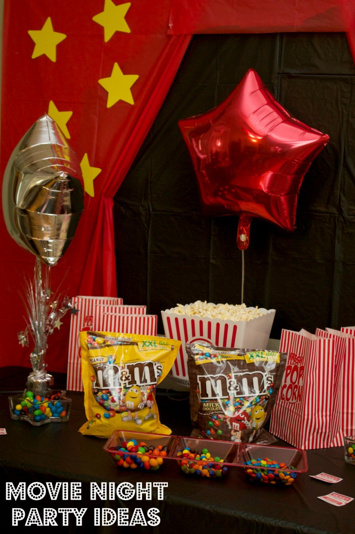 Movie Night Themed Party Ideas And Recipes