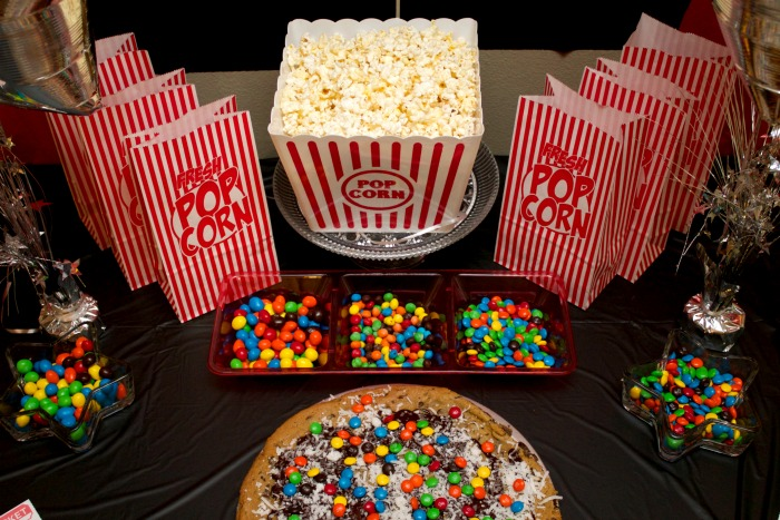 popcorn movie party