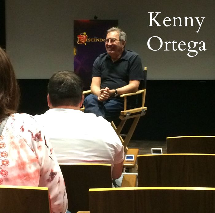 kenny ortega disney descendants director