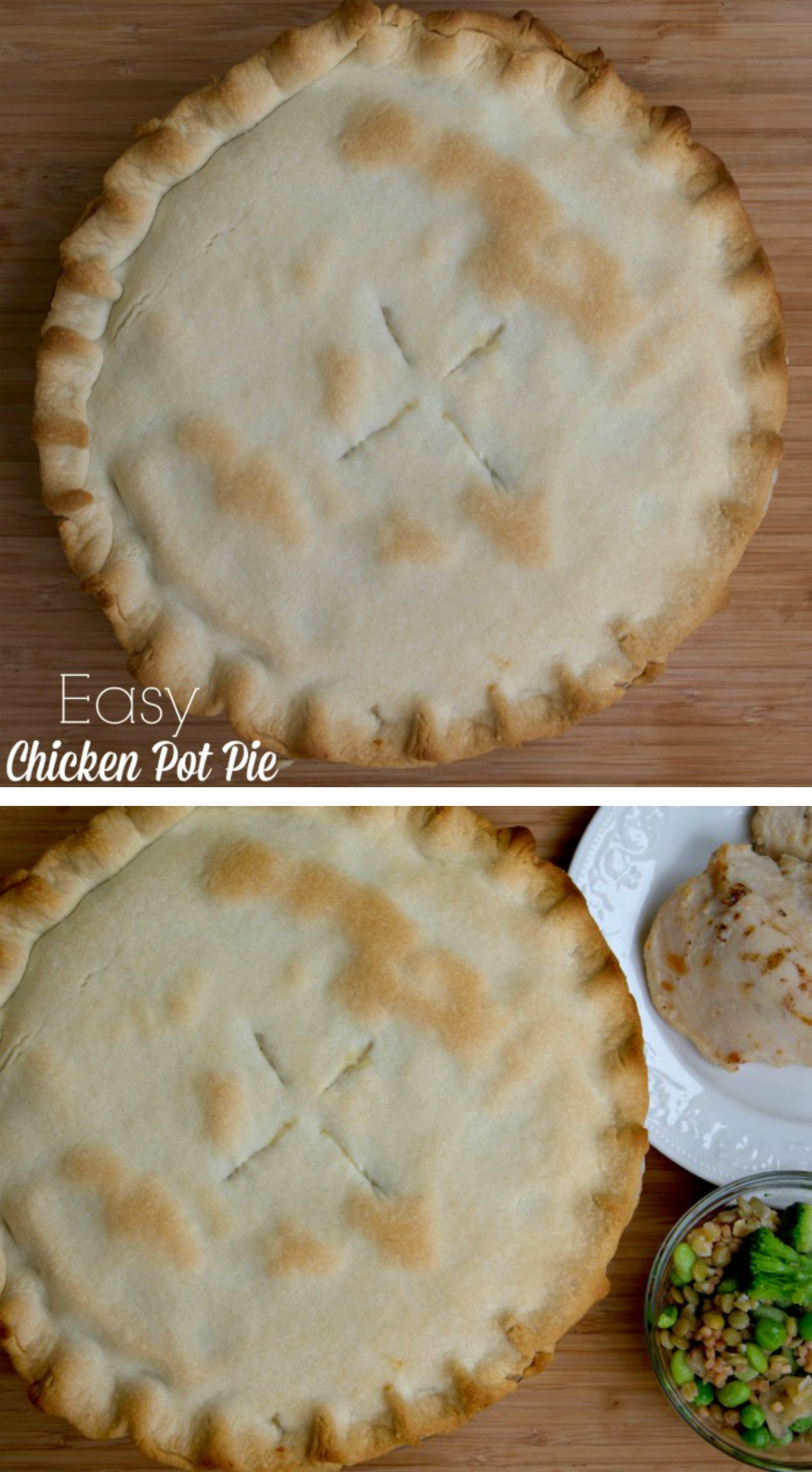 how to make pie crust for pot pie