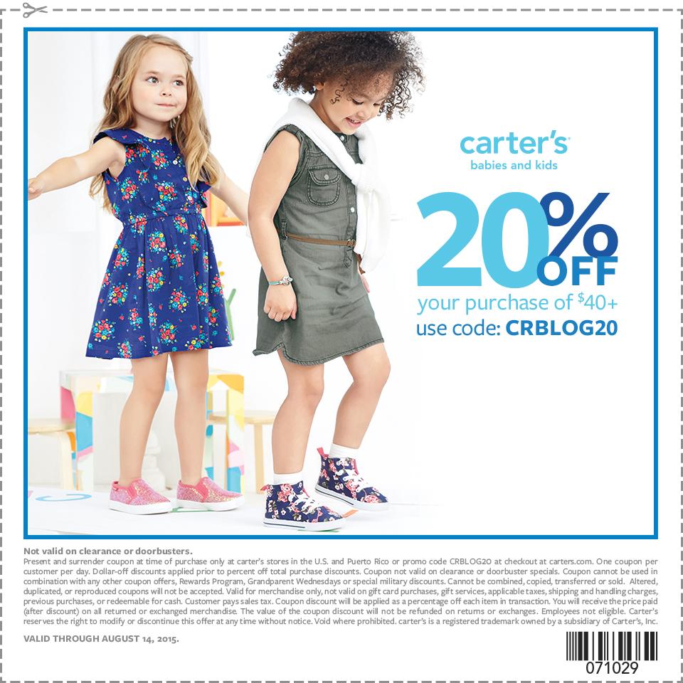 printable carter's coupon