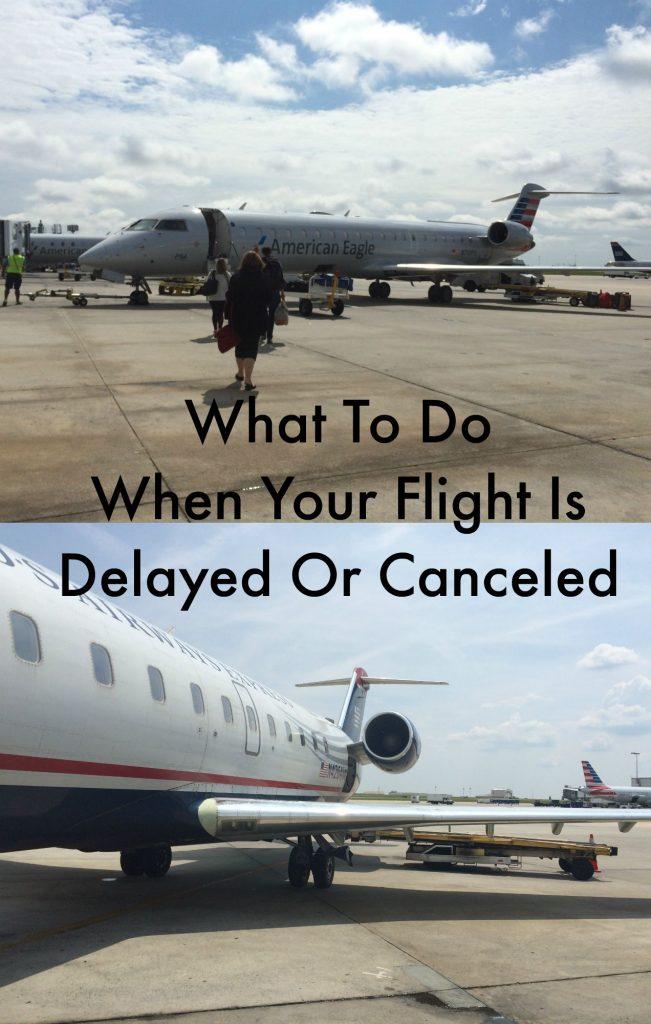 flight canceled or delayed