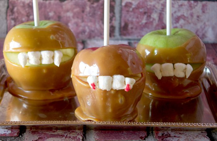 apple desserts for halloween