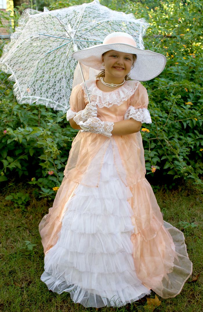 df2e3c68afa Peachy Southern Belle Costume From Chasing Fireflies