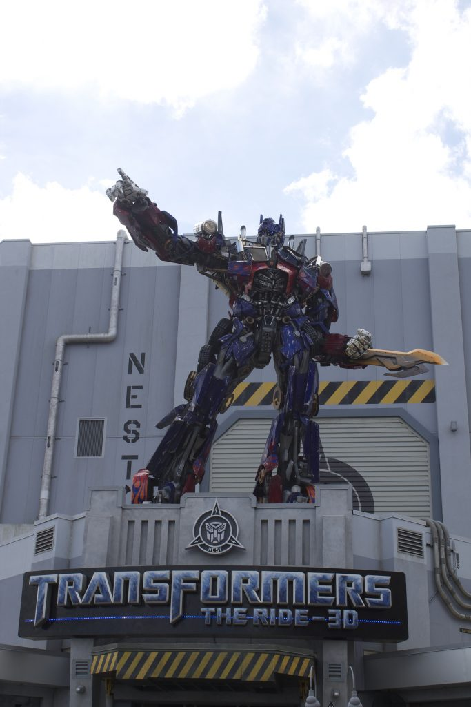 Best Vacation at Universal Orlando-Transformers The Ride