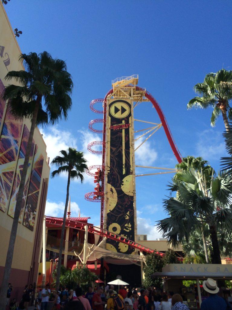 Hollywood rip ride rocket Universal-Thrill Rides at Universal