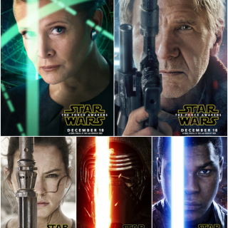 Star Wars: The Force Awakens New Character Posters!
