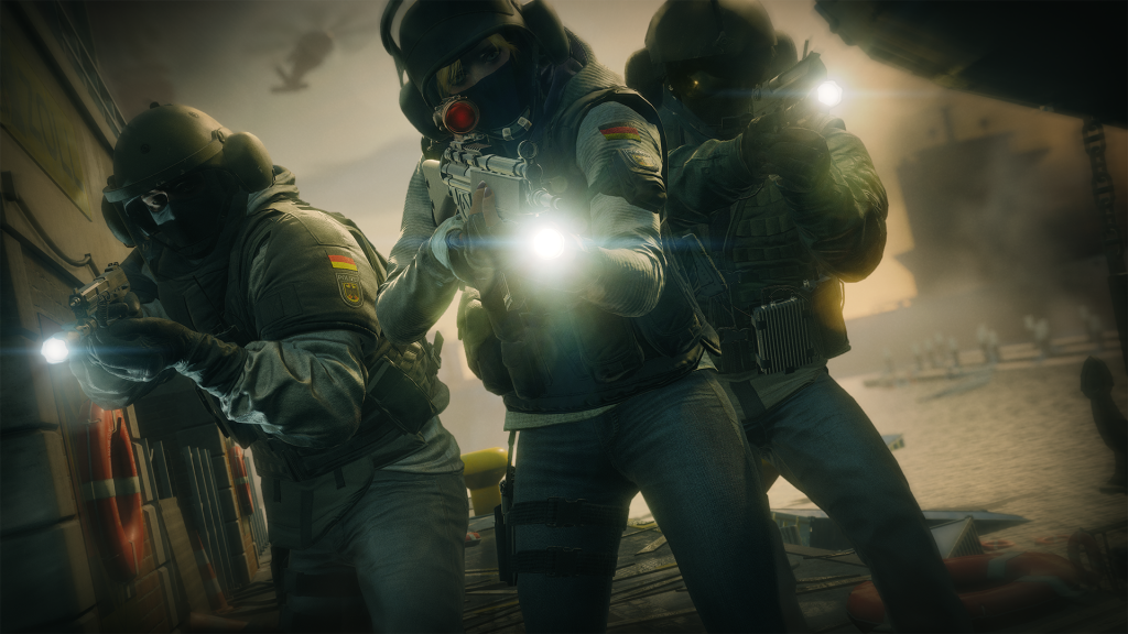 Tom Clancy's Rainbow Siege Six