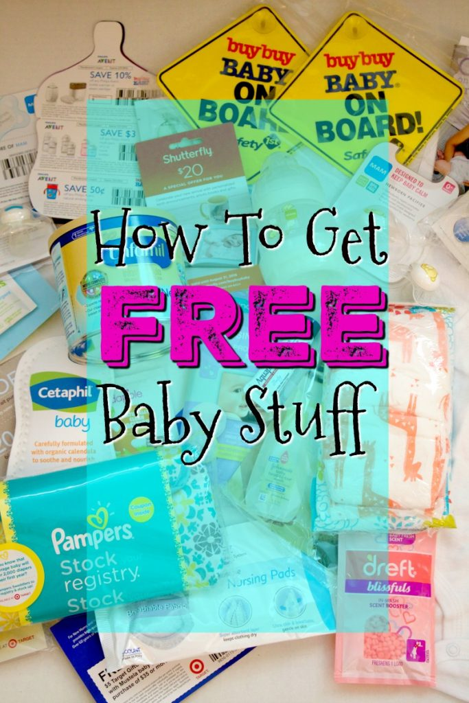 How to get free baby samples and coupons