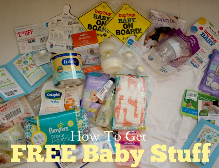 Register for free baby samples