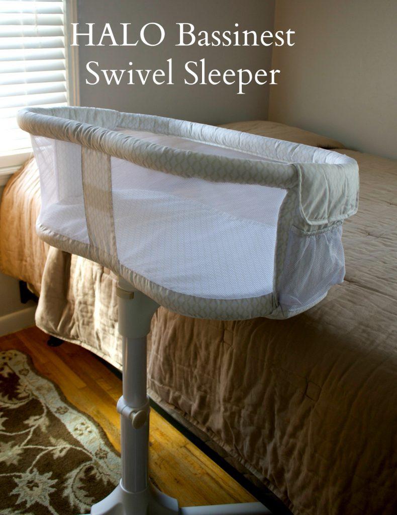 Halo Bassinest Swivel Sleeper Mom Luck