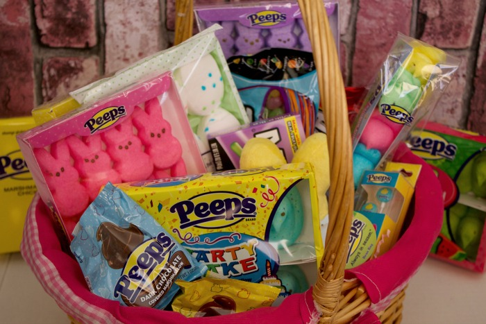 easy easter basket ideas for kids with peeps company mom luck