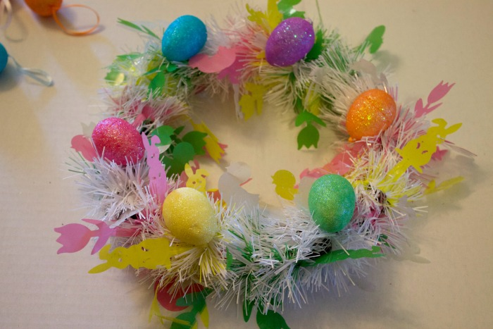 Cute wreath for easter Craft
