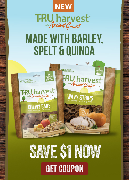 TRU Harvest Dog Treats