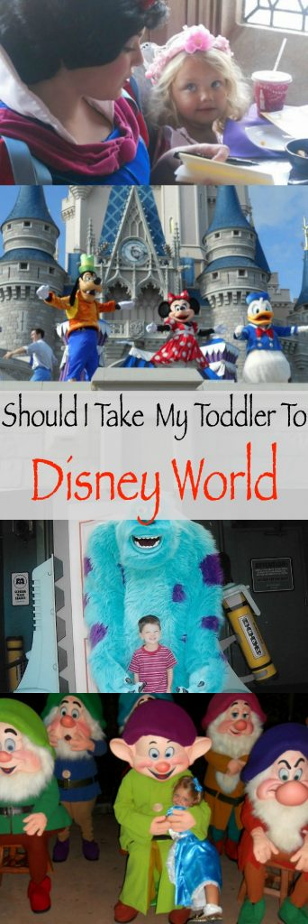 Should I take my young child to Disney World