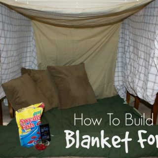 How To Make A Blanket Fort