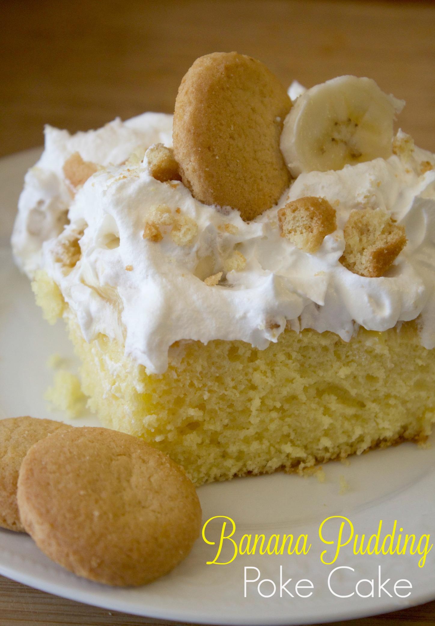 The Best Banana Pudding Poke Cake Recipe Every