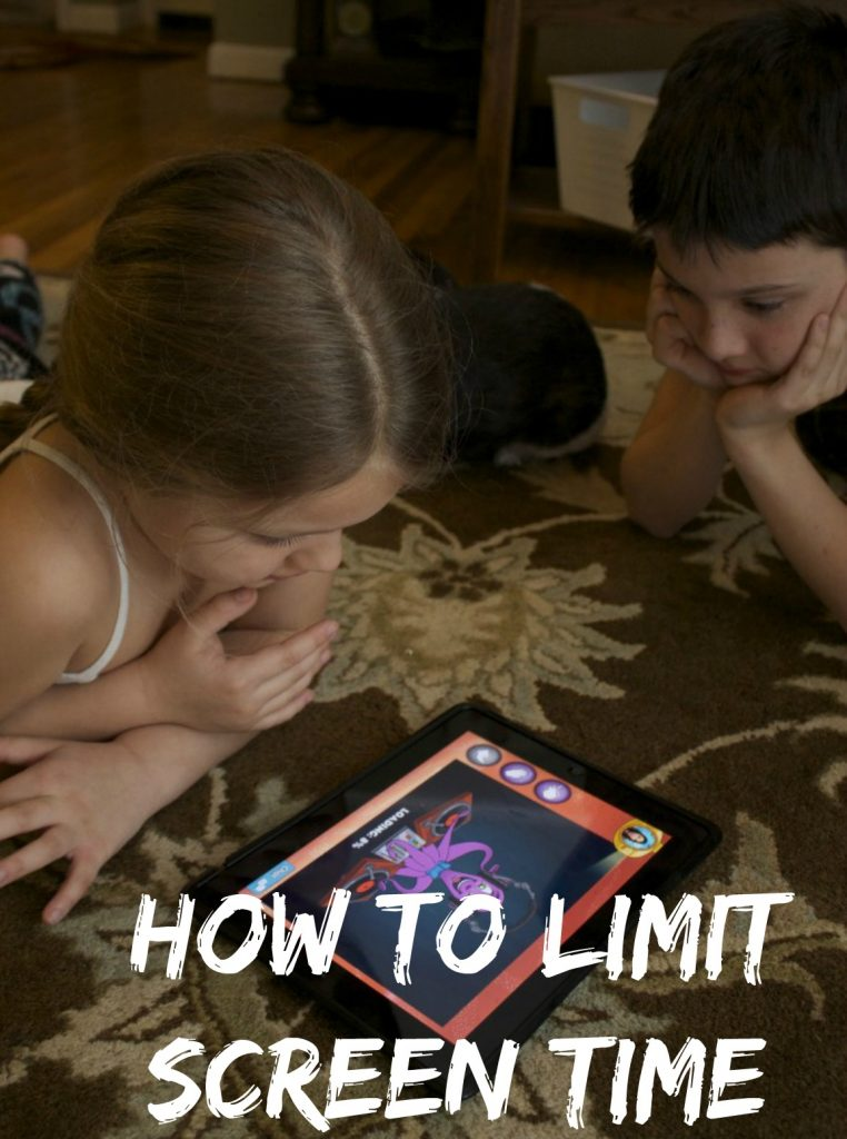 how to limit screen time in kids