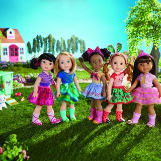Meet the Wellie Wishers New American Girl Dolls
