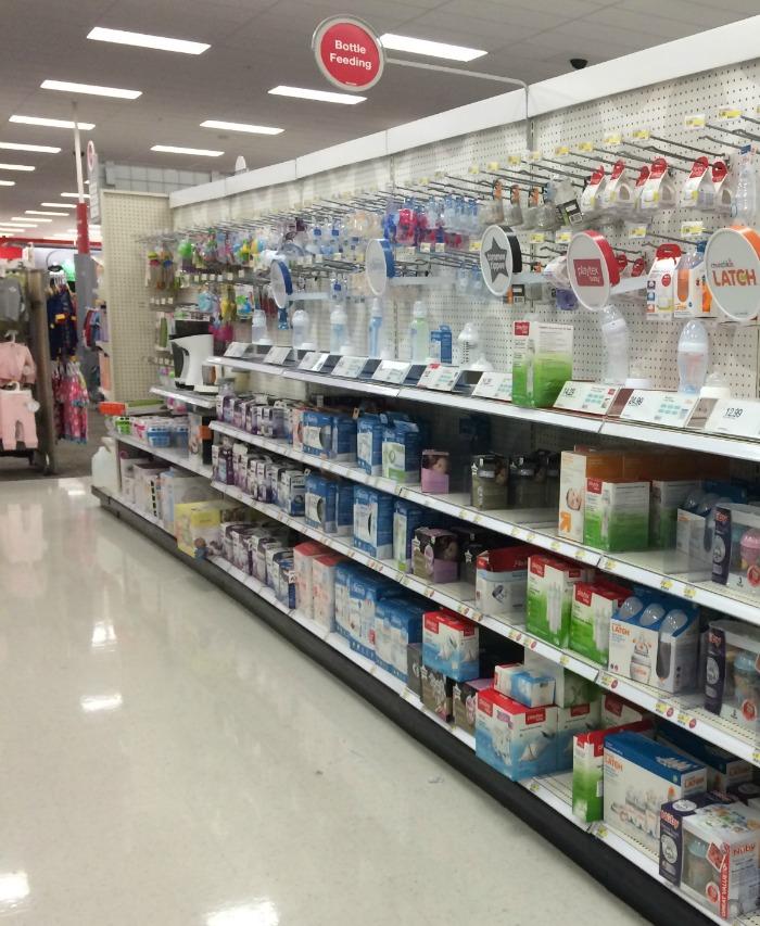 bottles at target