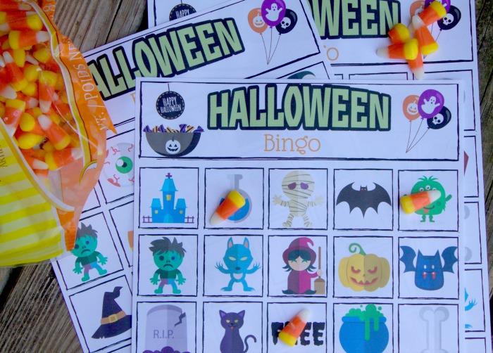 free halloween bingo game for kids printable