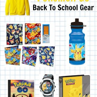 10 Must Have Pokemon Go School Supplies